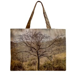 Ceiba Tree At Dry Forest Guayas District   Ecuador Medium Tote Bag