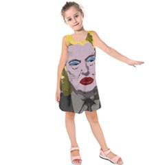 Happy Birthday Mr. President  Kids  Sleeveless Dress