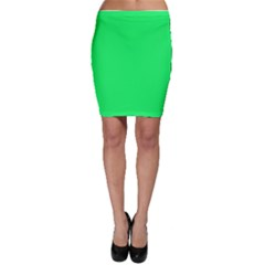 Lanai Lime Green - Acid Green Bodycon Skirt