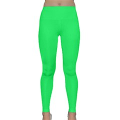 Lanai Lime Green - Acid Green Classic Yoga Leggings