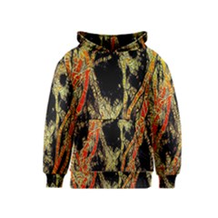 Artistic Effect Fractal Forest Background Kids  Pullover Hoodie