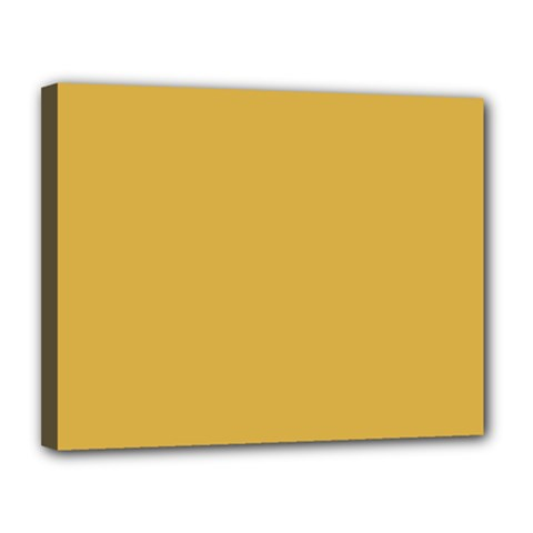 Designer Fall 2016 Color Trends-Spicy Mustard Yellow Canvas 14  x 11