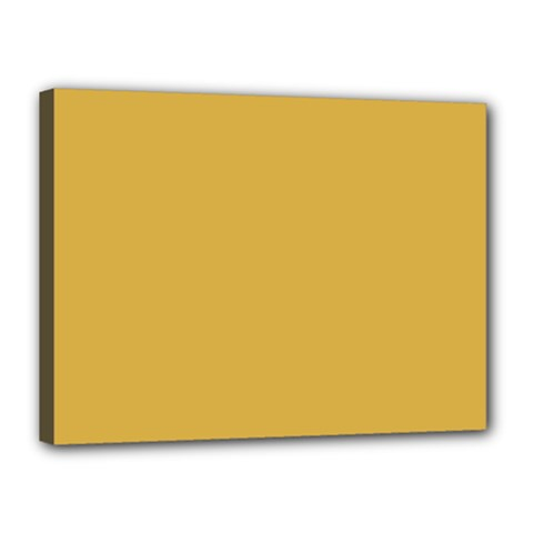 Designer Fall 2016 Color Trends-Spicy Mustard Yellow Canvas 16  x 12