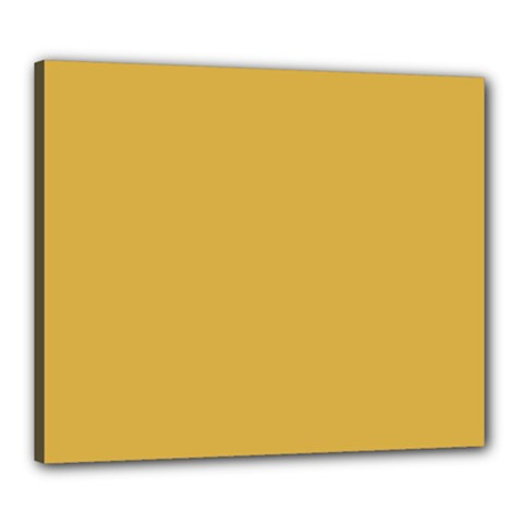 Designer Fall 2016 Color Trends Spicy Mustard Yellow Canvas 24  X 20