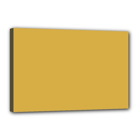 Designer Fall 2016 Color Trends-Spicy Mustard Yellow Canvas 18  x 12