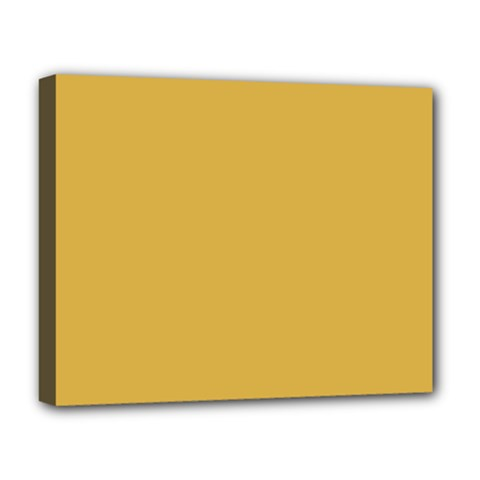 Designer Fall 2016 Color Trends-Spicy Mustard Yellow Deluxe Canvas 20  x 16