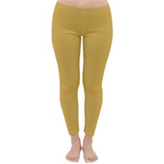 Designer Fall 2016 Color Trends Spicy Mustard Yellow Classic Winter Leggings