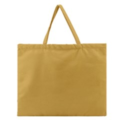 Designer Fall 2016 Color Trends-Spicy Mustard Yellow Zipper Large Tote Bag