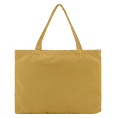 Designer Fall 2016 Color Trends-Spicy Mustard Yellow Medium Zipper Tote Bag