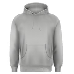 Grey and White simulated Carbon Fiber Men s Pullover Hoodie