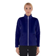 Classic Navy Blue Solid Color Winterwear
