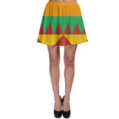 Burger Bread Food Cheese Vegetable Skater Skirt