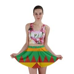 Burger Bread Food Cheese Vegetable Mini Skirt