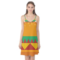 Burger Bread Food Cheese Vegetable Camis Nightgown