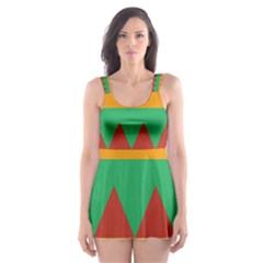 Burger Bread Food Cheese Vegetable Skater Dress Swimsuit