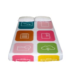 Icons Vector Fitted Sheet (full/ Double Size)