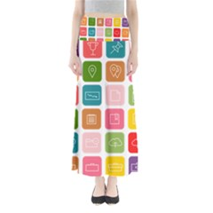 Icons Vector Maxi Skirts