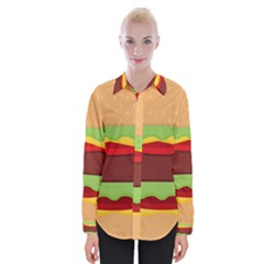 Vector Burger Time Background Shirts