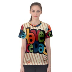 Have A Nice Happiness Happy Day Women s Sport Mesh Tee
