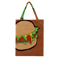 Burger Double Classic Tote Bag