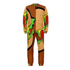 Burger Double OnePiece Jumpsuit (Kids)