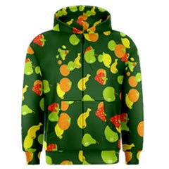 Seamless Tile Background Abstract Men s Zipper Hoodie