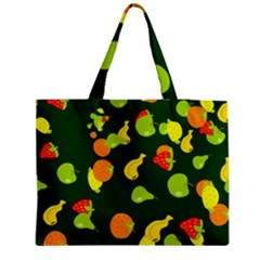 Seamless Tile Background Abstract Medium Zipper Tote Bag