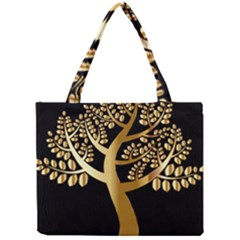 Abstract Art Floral Forest Mini Tote Bag