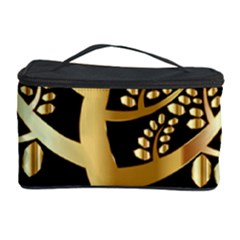 Abstract Art Floral Forest Cosmetic Storage Case