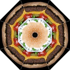 Abstract Barbeque Bbq Beauty Beef Straight Umbrellas
