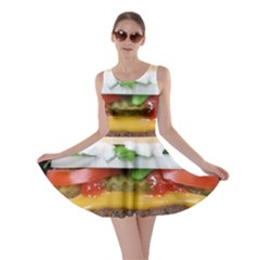 Abstract Barbeque Bbq Beauty Beef Skater Dress