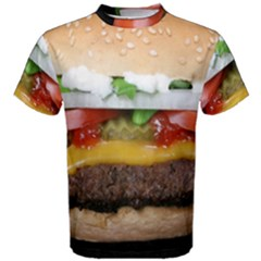 Abstract Barbeque Bbq Beauty Beef Men s Cotton Tee