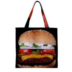 Abstract Barbeque Bbq Beauty Beef Zipper Grocery Tote Bag