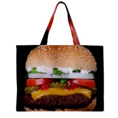 Abstract Barbeque Bbq Beauty Beef Zipper Mini Tote Bag