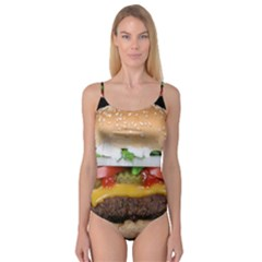 Abstract Barbeque Bbq Beauty Beef Camisole Leotard