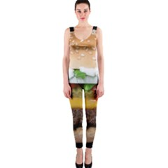 Abstract Barbeque Bbq Beauty Beef OnePiece Catsuit