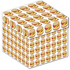 Hamburger Pattern Storage Stool 12