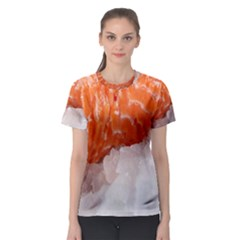 Abstract Angel Bass Beach Chef Women s Sport Mesh Tee