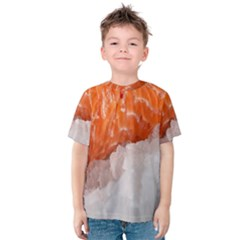 Abstract Angel Bass Beach Chef Kids  Cotton Tee