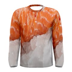 Abstract Angel Bass Beach Chef Men s Long Sleeve Tee