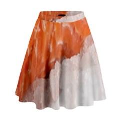 Abstract Angel Bass Beach Chef High Waist Skirt
