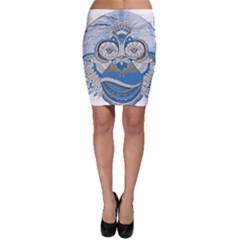 Pattern Monkey New Year S Eve Bodycon Skirt