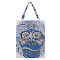 Pattern Monkey New Year S Eve Classic Tote Bag