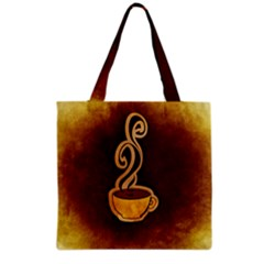Coffee Drink Abstract Grocery Tote Bag