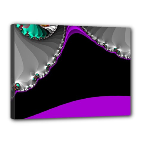 Fractal Background For Scrapbooking Or Other Canvas 16  X 12