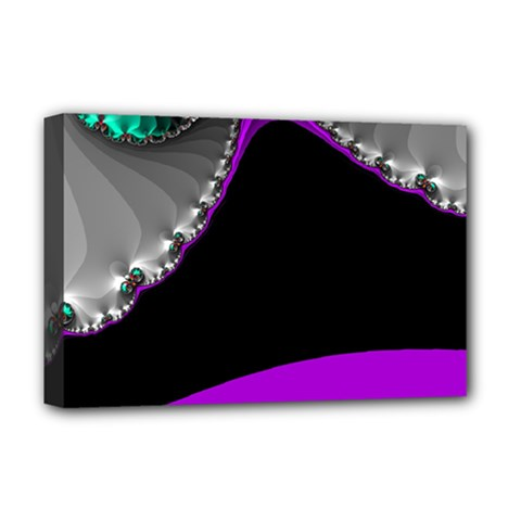 Fractal Background For Scrapbooking Or Other Deluxe Canvas 18  x 12