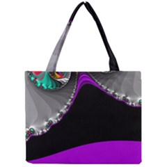 Fractal Background For Scrapbooking Or Other Mini Tote Bag