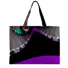 Fractal Background For Scrapbooking Or Other Zipper Mini Tote Bag