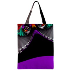 Fractal Background For Scrapbooking Or Other Zipper Classic Tote Bag