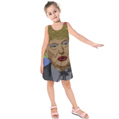Donald Trump Kids  Sleeveless Dress
